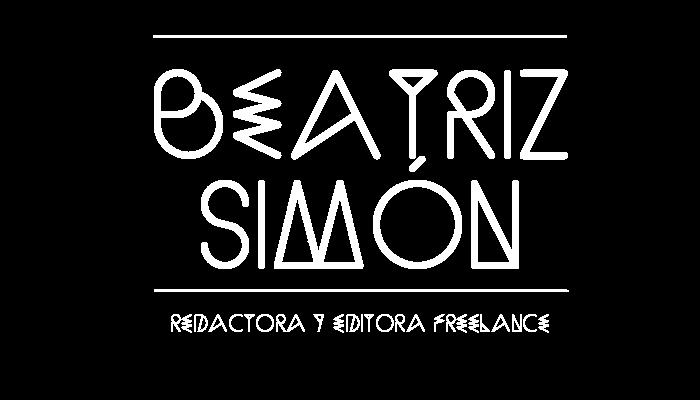 Beatriz Simón, redactora y editora freelance
